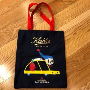 Kiehl's limited edition Bannecker tote bag